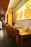 Interior del restaurante fotos de archivo