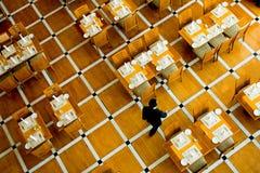 Interior del restaurante Imagenes de archivo
