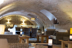 Interior del restaurante Imagen de archivo