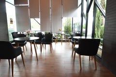 Interior del restaurante del café Foto de archivo libre de regalías