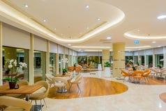Interior del restaurante moderno Imagen de archivo