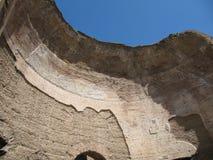 Interior del ruinas del castillo Imágenes de archivo libres de regalías