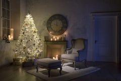 Interior del ` s del Año Nuevo Imagen de archivo libre de regalías
