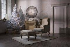 Interior del ` s del Año Nuevo Imágenes de archivo libres de regalías