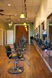 Interior del salón de belleza Fotografía de archivo libre de regalías