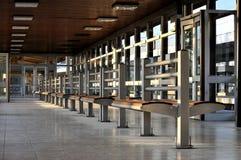 Interior del salón que espera Fotos de archivo libres de regalías