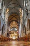 Interior del santo Patrick Cathedral Fotografía de archivo libre de regalías