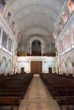 Interior del santuario de Fátima, Estremadura, Portugal Imagenes de archivo