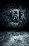 Interior del sitio de Grunge fotos de archivo