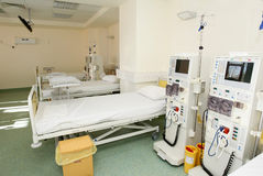Interior del sitio de hospital Fotos de archivo