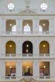 Interior del sitio de lectura de Trobe del La de la biblioteca estatal de Victoria en Melbourne Imagenes de archivo