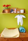Interior del sitio de niños Fotos de archivo libres de regalías