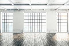 Interior del sitio del Grunge Fotografía de archivo libre de regalías