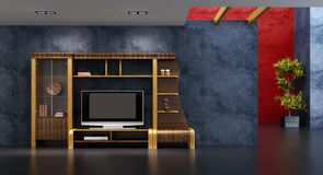 Interior del sitio del salón Imagen de archivo