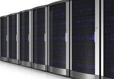 Interior del sitio del servidor stock de ilustración