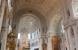 Interior del St Michael Church en Munich fotografía de archivo libre de regalías