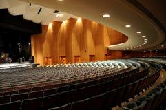 Interior del teatro Fotografía de archivo libre de regalías