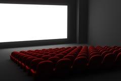 Interior del teatro de película Fotografía de archivo