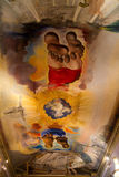 Interior del teatro y del museo de Dalí Imagen de archivo libre de regalías