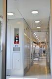 Interior del tren de alta velocidad Imagen de archivo