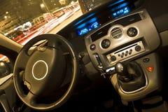 Interior del vehículo Imagen de archivo libre de regalías
