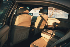 Interior del vehículo Fotografía de archivo