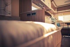 Interior del vehículo recreacional imágenes de archivo libres de regalías