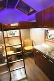 Interior del vehículo recreacional imagen de archivo