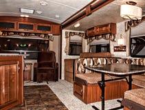 Interior del vehículo recreativo fotos de archivo