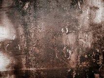 Interior del vintage del piso del cemento de la pared de piedra Fondo Foto de archivo