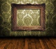 Interior denominado velho ilustração stock