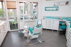 Interior dental moderno do escritório Fotos de Stock Royalty Free