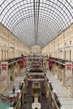 Interior of  Department Store in the Moscow Royalty Free Stock Photography