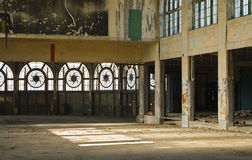 Interior of derelict building Royalty Free Stock Photography