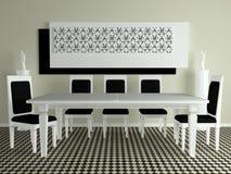 Interior design royalty free illustration
