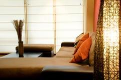 Interior design. Living room close up Royalty Free Stock Photo