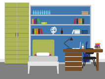 Interior design royalty illustrazione gratis