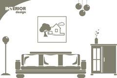 Interior design Immagine Stock Libera da Diritti