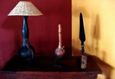 Interior design. Old style furniture Stock Photos