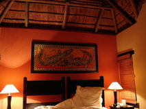 Interior design. Traditional african interior design Royalty Free Stock Photography
