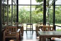 Free Interior Design And Decor Furniture Of Coffee Shop And Restaurant For People Visit Eat And Drinks In Saraburi, Thailand Royalty Free Stock Photo - 136881765