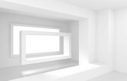 Interior design astratto Fotografia Stock Libera da Diritti