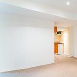 Interior design of basement Royalty Free Stock Image