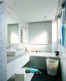 Interior design - bathroom Royalty Free Stock Image