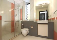 Interior design - bathroom Stock Image