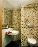 Interior design - bathroom Royalty Free Stock Photos