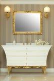 Interior design - bathroom Royalty Free Stock Image
