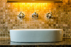 Interior design of a bathroom Royalty Free Stock Photo
