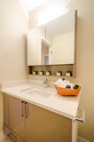 Interior design of a bathroom Royalty Free Stock Photo