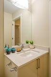 Interior design of a bathroom Royalty Free Stock Photography